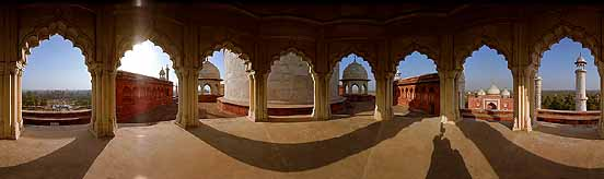 360° Panorama © Explore the Taj Mahal