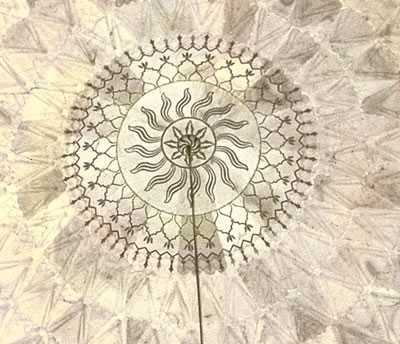 Image result for the inner dome at the taj mahal