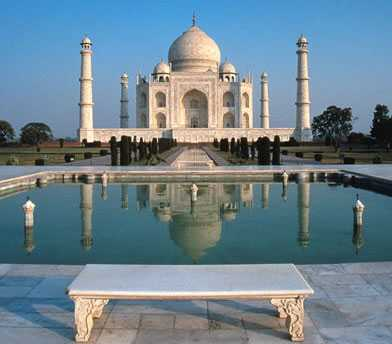 Image result for The famous Diana seat at Taj Mahal